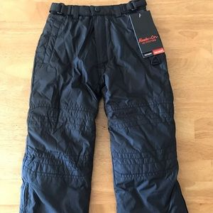NWT Hawke & Co 4 Toddler Child Black Snow Pants